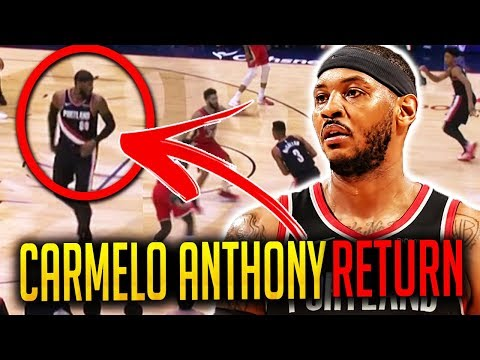 6 Things We Noticed From Carmelo Anthony's First Game With Portland Trailblazers!