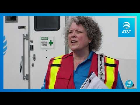 AT&T's Network Disaster Recovery Team is Taking Safety Precautions | AT&T-YoutubeVideoText