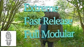 """Militärischer Rucksack """"Extreme Fast Release Full Modular"""" von Defcon 5"""