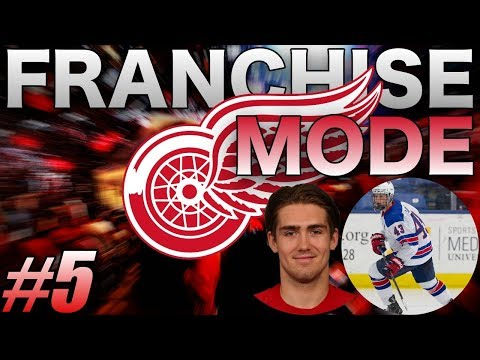 "NHL 19 - Detroit Red Wings Franchise Mode #5 ""Young Guns Breaking Out"""
