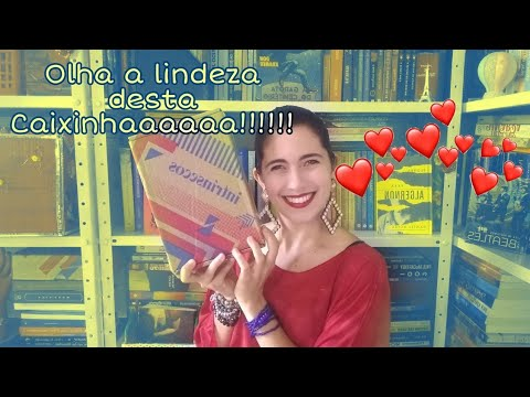 Unboxing Caixinha 029 ( Fevereiro de 2021) | Livros Meus Mimos ???