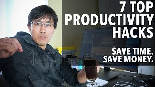 7 productivity life-hacks for success (as a millionaire).