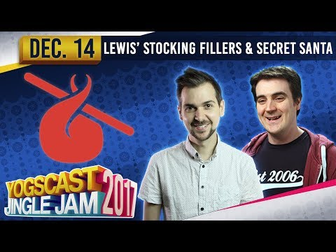 BBC INTERVIEW + SECRET SANTA - STOCKING FILLERS - YOGSCAST JINGLE JAM - 14th December 2017