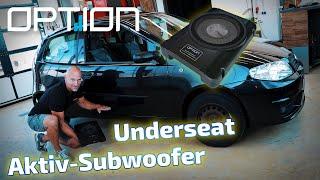 Aktivwoofer im Fiat Punto | Option Drive10UA | ARS24