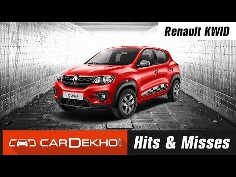 Renault KWID Hits & Misses