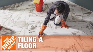 Tile Floor Installation: How To Prepare And Lay Tile | The Home Depot