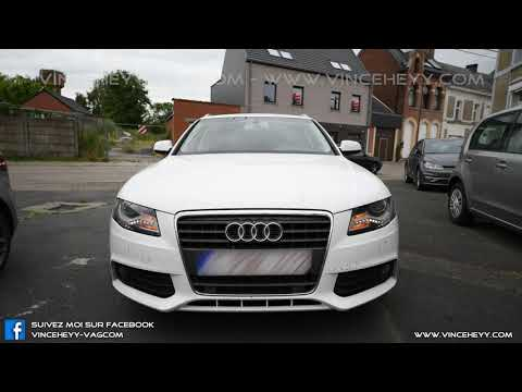 Audi A4 (B8) - Front US blinker with Xenon