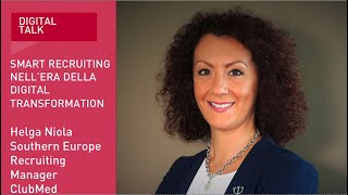 Youtube: Helga Niola, Southern Europe Recruiting Manager | ClubMed | Digital Talk | Indeed