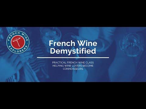 New French Class: French Wine Demystified