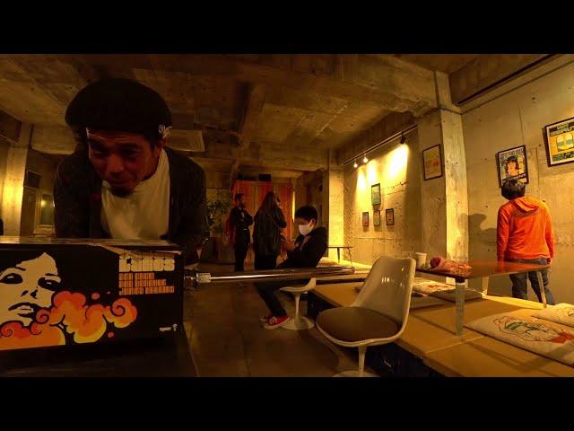 中東アート展オープニングイベント manu coffeeクジラ店