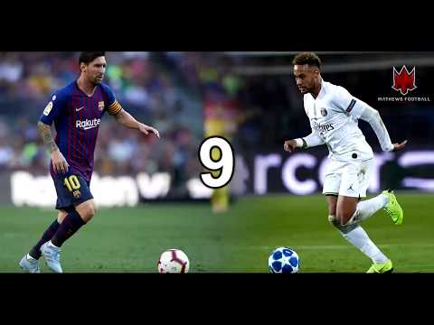 MESSI VS NEYMAR JR. •SKILLS AND TRICKS•