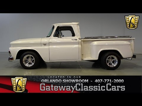 Video of '66 Chevrolet C10 located in Florida Offered by Gateway Classic Cars - Orlando - M991