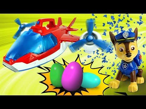 Щенячий патруль сюрпризы и игрушки для детей  Игрушкин ТВ видео