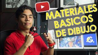 MATERIALES BASICOS PARA DIBUJO [PARTE 1]