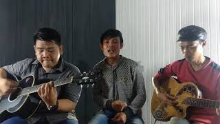 Can't Take My Eyes - Frankie Valli (live Cover Acoustic By Danang , Feri & Yamin)
