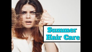 10 Essential Summer Hair Care Tips