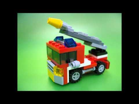 Vidéo LEGO Creator 6911 : Le mini camion de pompier