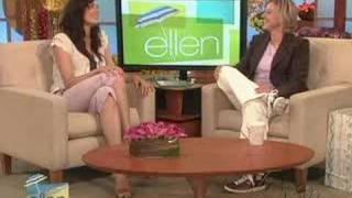 Фамке Янссен, On Ellen Show