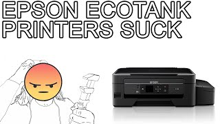 Don't Buy the Epson EcoTank - 3 Year Review