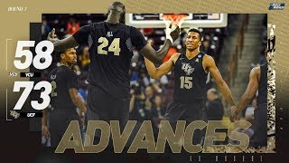 UCF Vs. VCU: First Round NCAA Tournament Extended Highlights