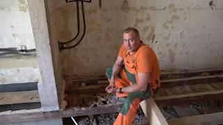 Ремонт деревянных балок перекрытия своими руками , проект Лиссабон Португалия Brigada1.lv