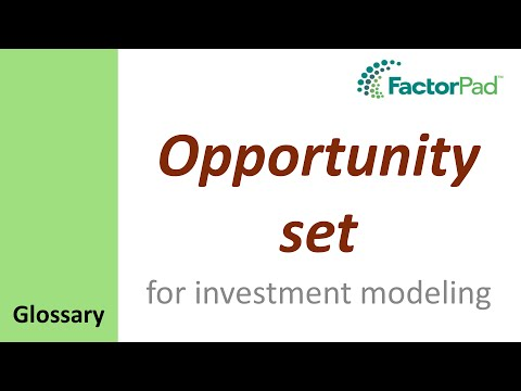 mp4 Investment Opportunity Set, download Investment Opportunity Set video klip Investment Opportunity Set