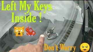 Left My Keys Inside Car 😶#hyundai #santro