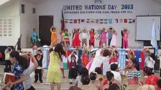 Kindergarten's Presentation - United Nations' Day 2013