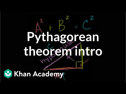 The Pythagorean Theorem Intro | Right Triangles And Trigonometry | Geometry | Khan Academy Mp3