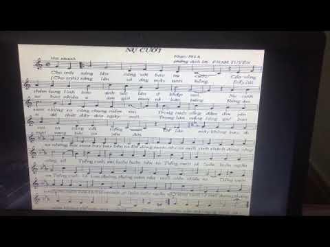 Âm nhạc 9: Bài nụ cười