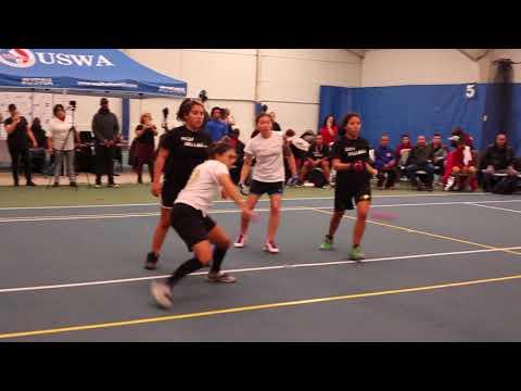 Wallball Women's Pro Doubles Exhibition Melanie/Jessinia vs Danielle D/Jenny Qu