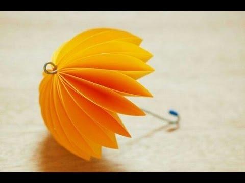 Cocktailschirmchen selber falten - Einfach und schnell erklärt