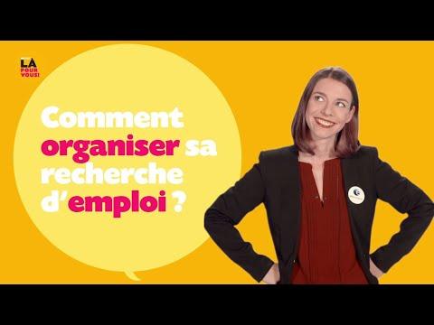 Video Comment organiser sa recherche d'emploi
