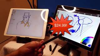 Mixoo 2 in 1 Apple & Android Stylus-- ONLY $25!