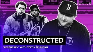 "The Making Of Joey Bada$$ & J. Cole's ""Legendary"" With Statik Selektah | Deconstructed"