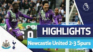 Newcastle United 2-3 Tottenham Pekan 8