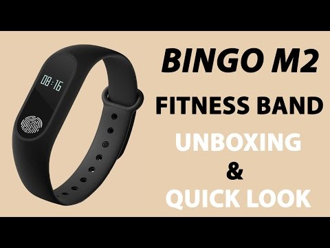 bingo m2 Fitness Band Unboxing