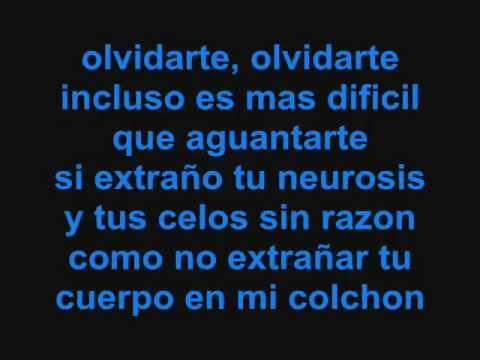 Ricardo Arjona- Olvidarte con letra