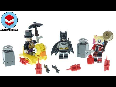 Vidéo LEGO DC Comics 40453 : Batman contre le Pingouin et Harley Quinn