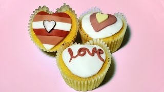 How to Make Heart Cupcakes - Valentines Day thumbnail