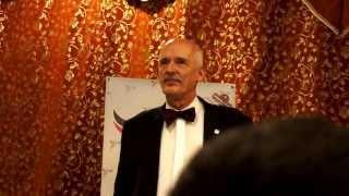 preview picture of video 'Korwin Mikke Ełk 19 03 2014 pytanie do prezydenta miasta'