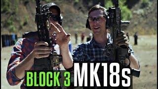 Lucas Botkin and Garand Thumb on MK18s