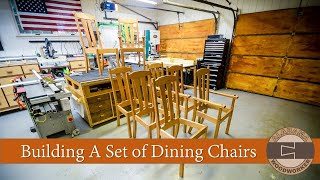 Building A Set Of Dining Chairs