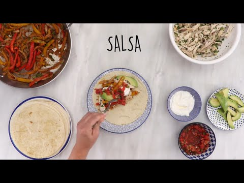How to Make Chicken Fajitas | Dinner Tonight