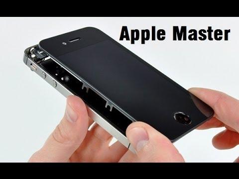 iPhone 5s замена экрана своими руками.