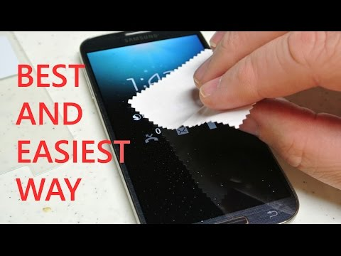 How to PERFECTLY apply TEMPERED GLASS SCREEN PROTECTOR on your Phone - Tempered Glass Installation