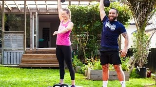 Youtube thumbnail for How to workout using kettlebells