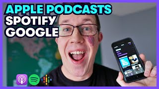 How To Get A Podcast On APPLE PODCASTS (iTunes) and SPOTIFY