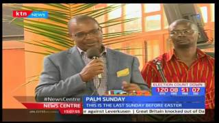 Kenyan Catholic faithful join the rest of the world in marking Palm Sunday