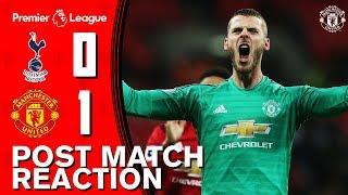 De Gea, Rashford, Lingard & Herrera Reflect On Wembley Win! | Spurs 0 1 Manchester United